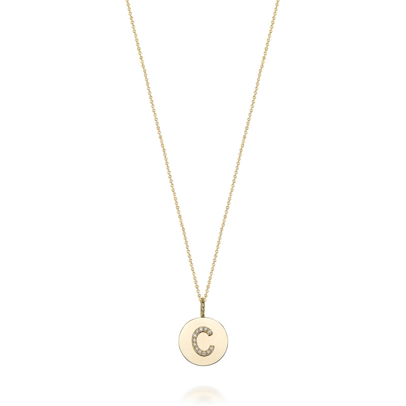 KARI DIAMOND MEDALLION CHARM-LOOSE