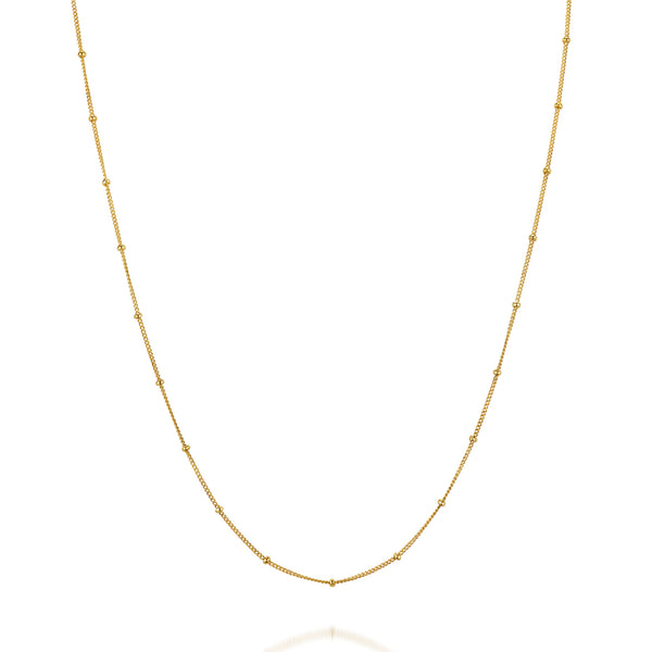 CHAINS: SATELLITE CHAIN-14K GOLD