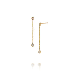 SLDA DIAMOND DROP EARRINGS