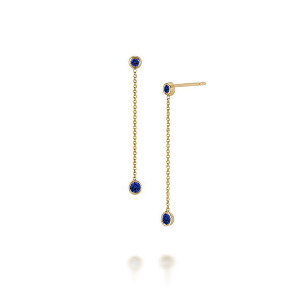 SLDA BIRTHSTONE DROP EARRINGS