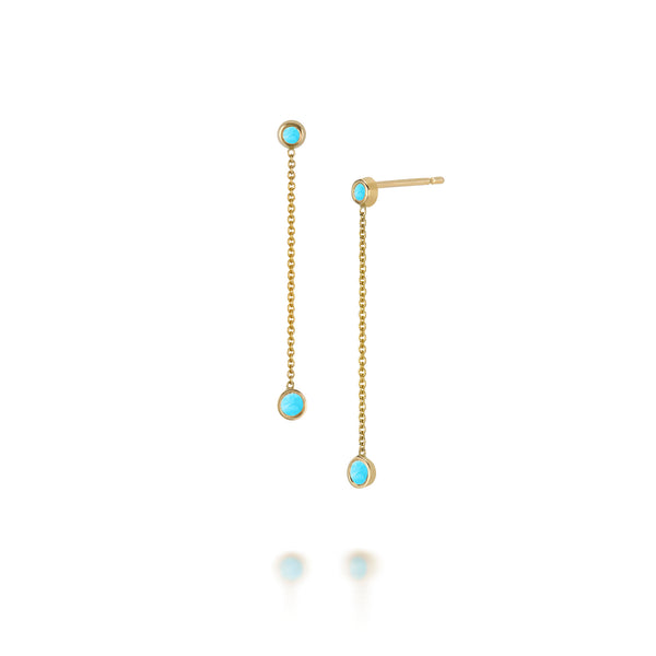 SLDA TURQUOISE DROP EARRINGS