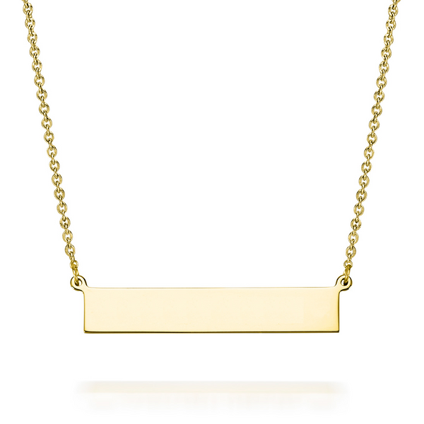 LEIGH BAR NECKLACE WITH PREVIEW