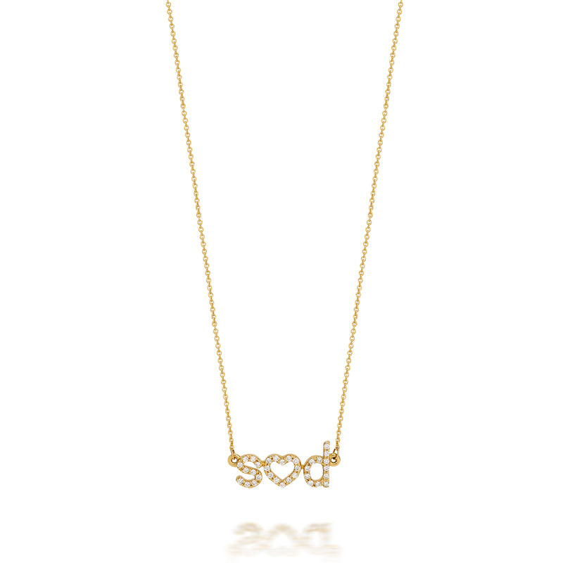 AMELIA DUO DIAMOND NECKLACE