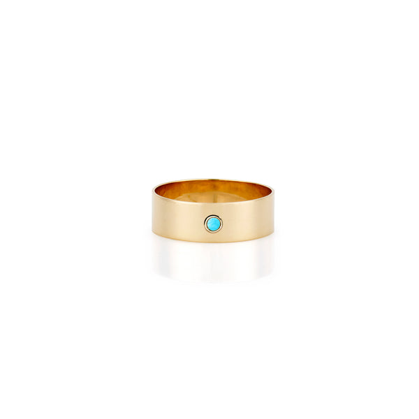 SLDA TURQUOISE CIGAR RING BAND