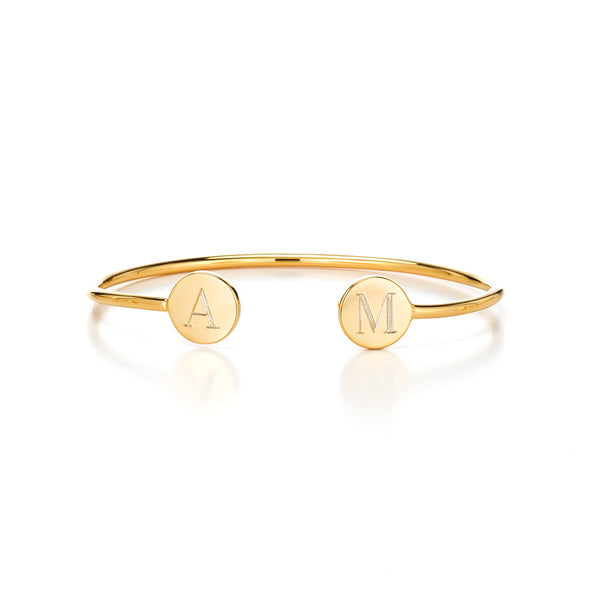 DOUBLE ELLE ROUND BANGLE