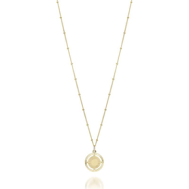 ARIELLE VEY MEDALLION NECKLACE