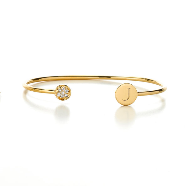 ELLE JOLIE DIAMOND BANGLE