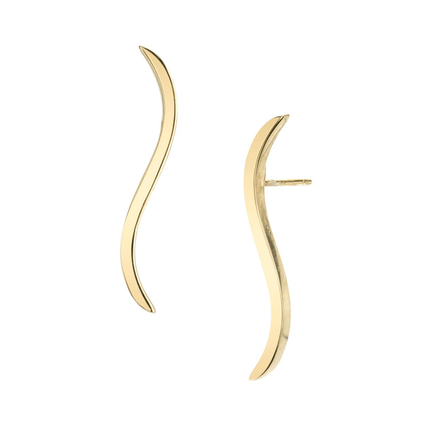 WAVERLY LONG STUD EARRINGS