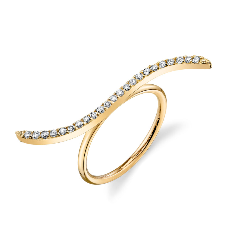 WAVERLY DIAMOND RING BAND