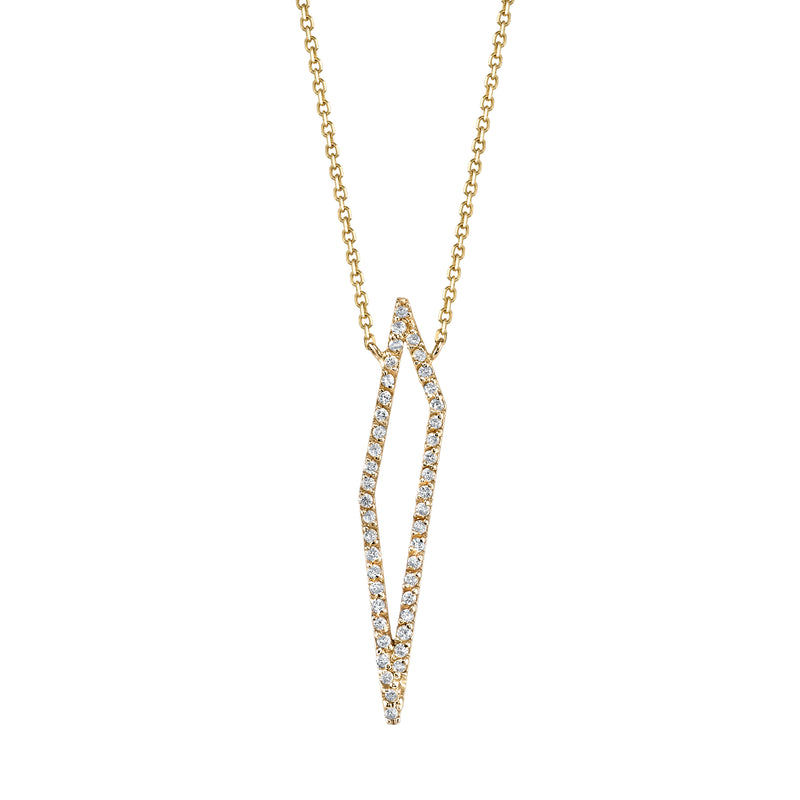 SHARDS v.01 DIAMOND NECKLACE