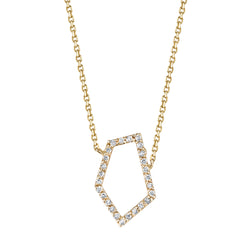 SHARDS v.02 DIAMOND NECKLACE