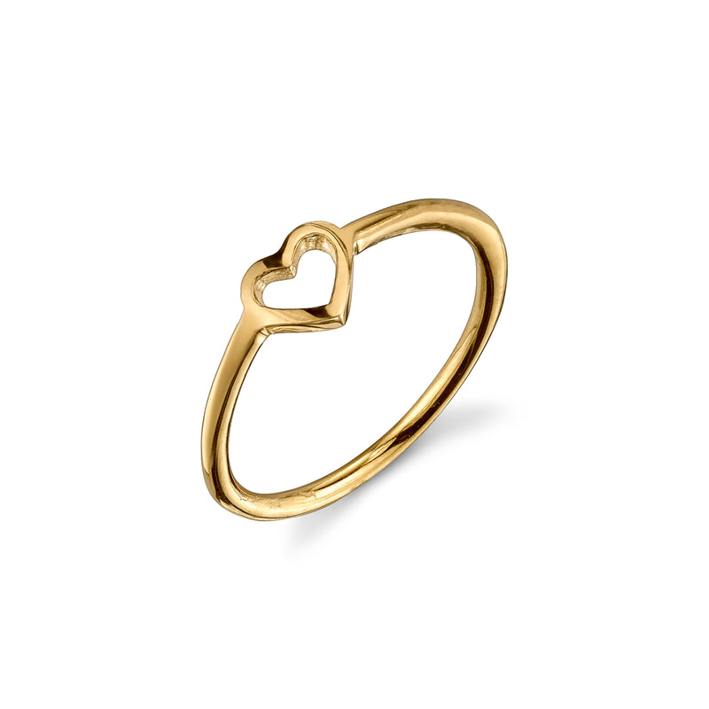 LOVE COUNT® STACKABLE RING - 1 HEART