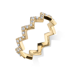 ZIGZAG RING BAND