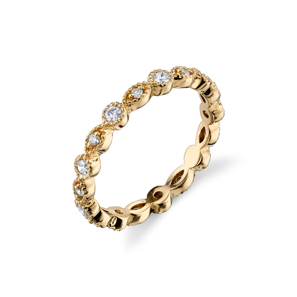 FILIGREE ETERNITY BAND