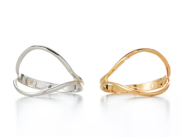 OVAL GEO RING