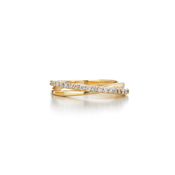 JOLIE WRAP DIAMOND RING