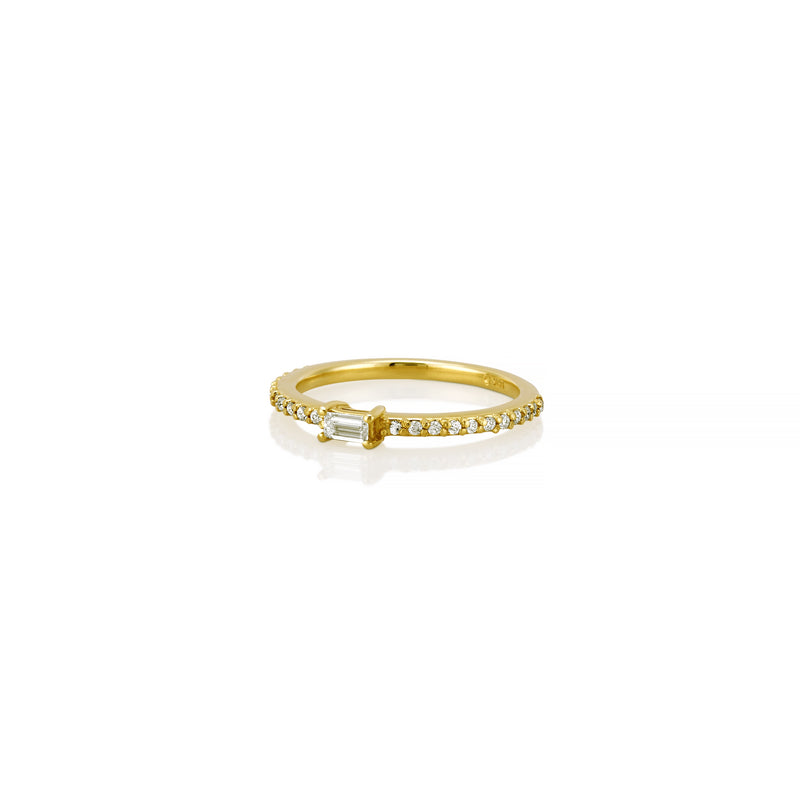BAGUETTE DIAMOND RING BAND