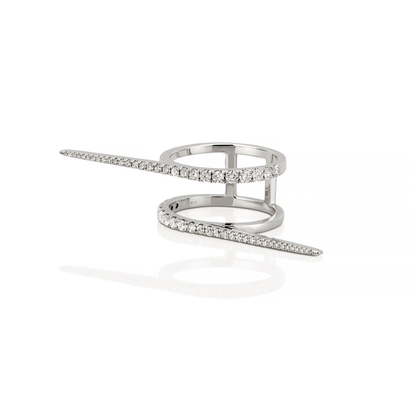 SOLANGE DOUBLE BAR RING