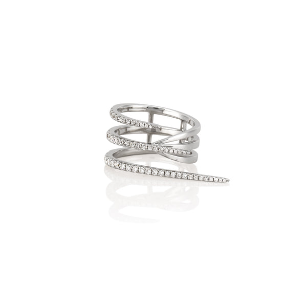 SOLANGE TRIPLE BAR RING