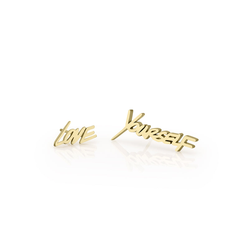 LOVEYOURSELF STUD EARRINGS