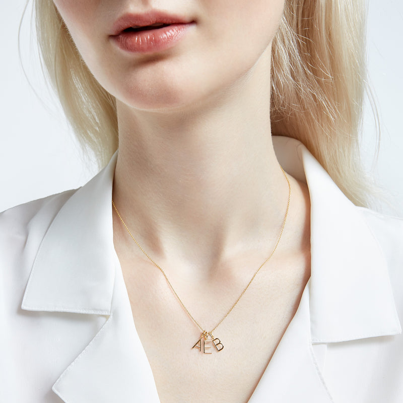 AMELIA BLOCK NECKLACE