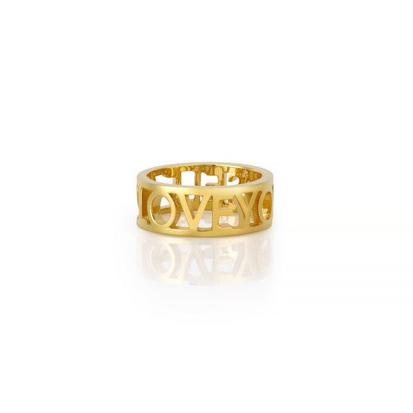 LOVEYOURSELF RING BAND