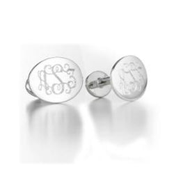 HOMME-OVAL CUFFLINKS