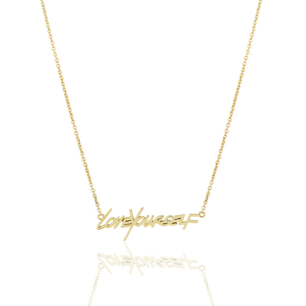 LOVEYOURSELF NECKLACE