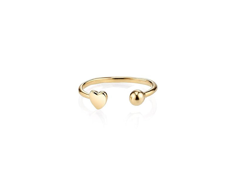 14KT OPEN ROCHA-SQUARE RING