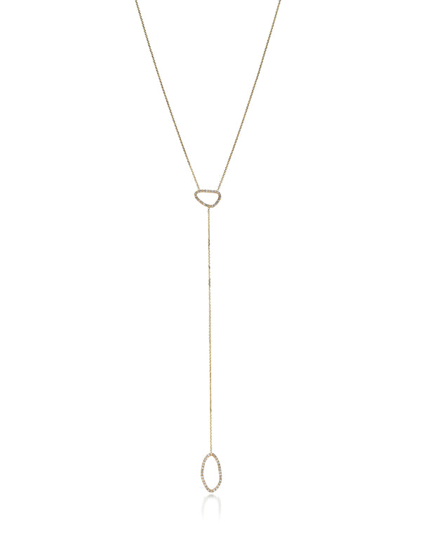 ORGANIC LARIAT NECKLACE