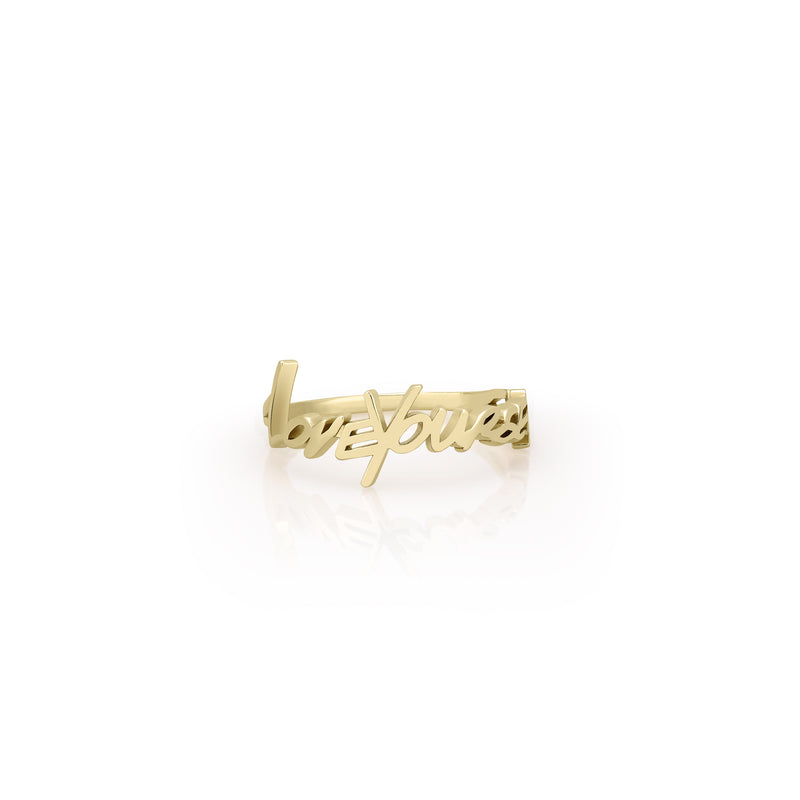 LOVEYOURSELF RING