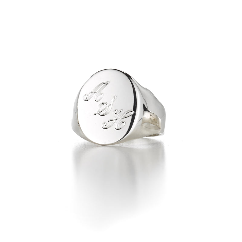 LANA DUO SIGNET RING
