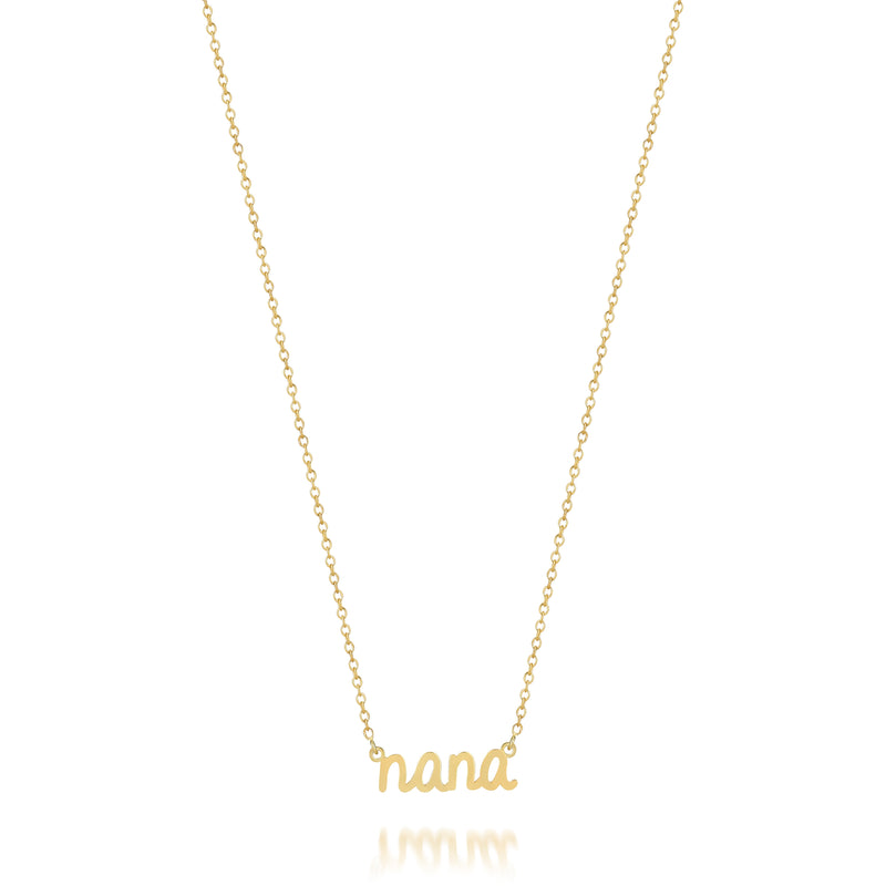 AVA SCRIPT 'NANA' NECKLACE