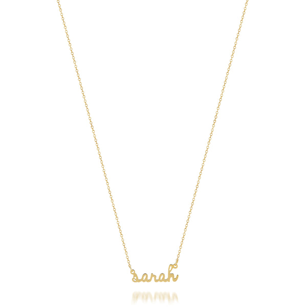 AVA CUSTOM MINI SCRIPT NAME NECKLACE