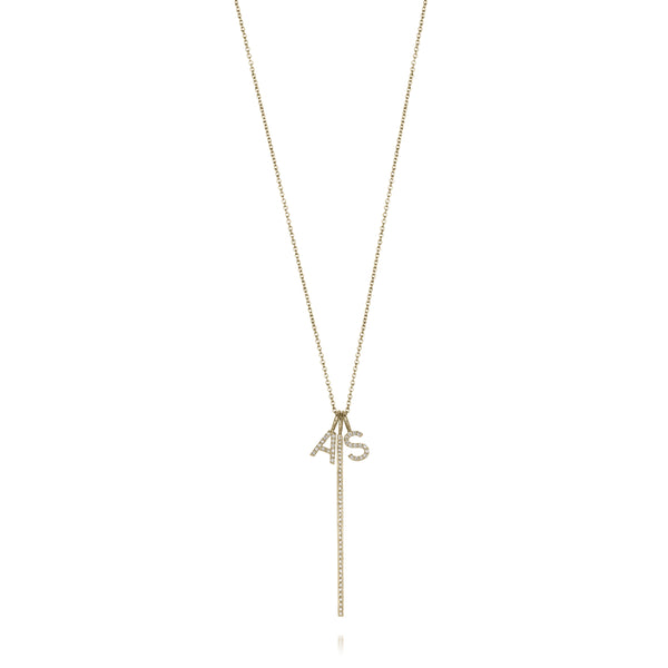 MELANGE-14KT NAOMI NECKLACE
