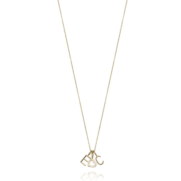 MELANGE- 14KT ANGIE NECKLACE