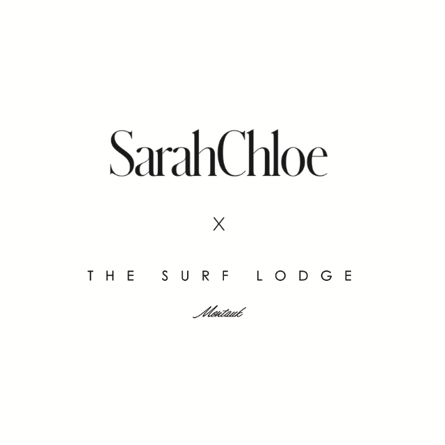 THE SURF LODGE x SARAH CHLOE MEDALLION