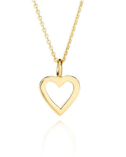 CHARMING-SHILOH OPEN HEART PENDANT