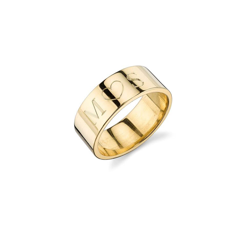 CIELA ENGRAVED RING BAND