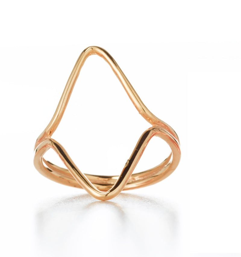 TRIANGLE GEO RING