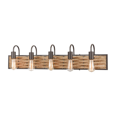 ELK Lighting,10755/5,Vanity Light,Weaverton,5 Light