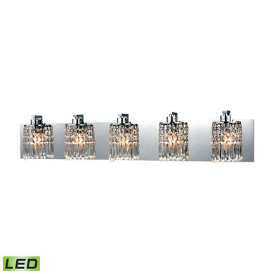 ELK Lighting,11239/5-LED,Vanity Light,Optix,5 Light