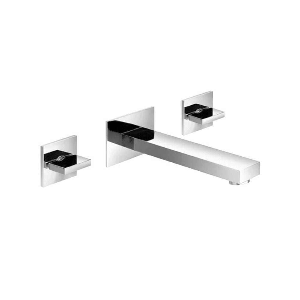 Isenberg 160.2450CP   Serie 160 Two Handle Wall Mounted Tub Filler - Chrome