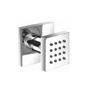"Isenberg 160.6402BN   Universal Fixtures Body Jet 1/2"" - With Swivel Action - Brushed Nickel"
