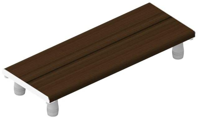 Invisia,INV-WSBB-30-WNT-CRP,Frame: Aluminum Wood: Bamboo,Frame: Chrome Polish Wood Stain: Walnut,30