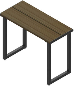 Invisia,INV-WSSB-24-HNY-BLK,Frame: Stainless Steel Wood: Bamboo,Frame: Matte Black Wood Stain: Honey,24""