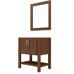 "Bertch Bath 24"" FVC24 Interlude Open Shelf Vanity in Mocha"