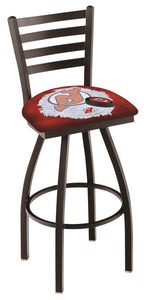 "Holland Bar Stool,NHL,Bar Stool,L014,36"",New Jersey Devils,Logo Series"