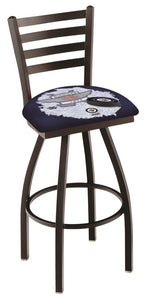 "Holland Bar Stool,NHL,Bar Stool,L014,36"",Winnipeg Jets,Logo Series"