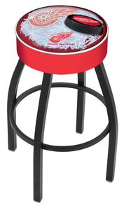 "Holland Bar Stool,NHL,Bar Stool,L8B1,25"",Detroit Red Wings,Logo Series"